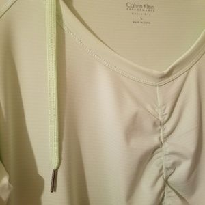 Calvin Klein Tops - Calvin Klein Performance Hooded Quick dry size L